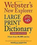 Webster's New Explorer Large Print