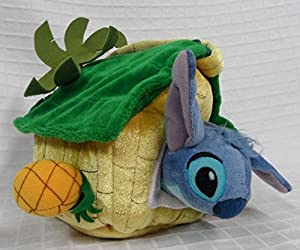 Stitch Plush Lilo and Stitch in Pineapple Plush House Tote
