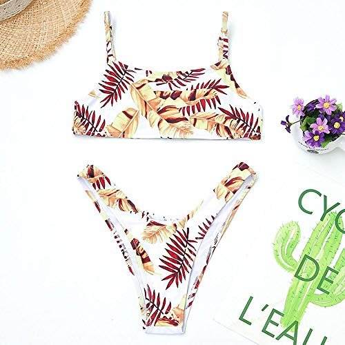 2019 Swimwear Brasileños Baño Conjunto Bikini Traje Bikinis Push Mujer Floral Blanco Logobeing Ropa Bañadores Up 1115 Swimsuit De XwqfO