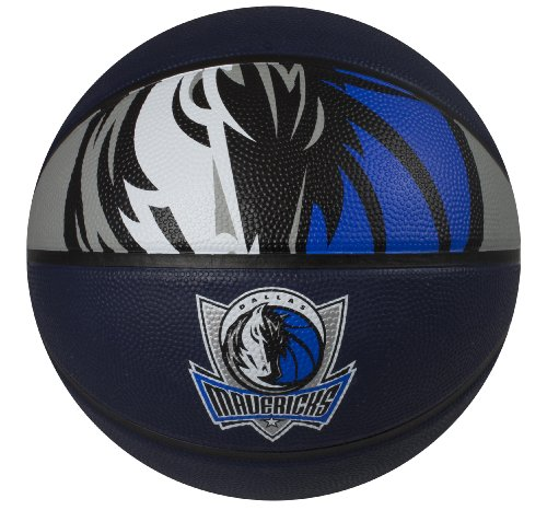 Spalding NBA Dallas Mavericks Courtside Rubber Basketball (Spalding Dallas Mavericks Rubber)