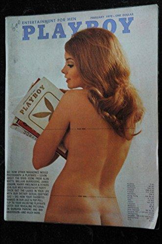 PLAYBOY US 1970 02 FEBRUARY BIBI ANDERSSON BARBARA PARKINS LUCKY LINDA VINTAGE