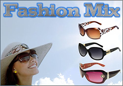 Wholesale Womens Assorted Sunglasses Dozen with FREE Soft - Free Sunglasses Wholesale Shipping
