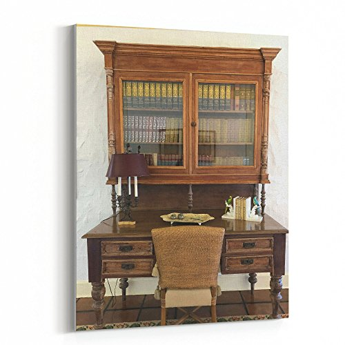 Westlake Art - Table Desk - 16x20 Canvas Print Wall Art - Canvas Stretched Gallery Wrap Modern Picture Photography Artwork - Ready to Hang 16x20 Inch (7675-059AB)