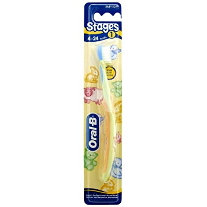 Oral-B Cepillo de Dientes Infantil Stages 1