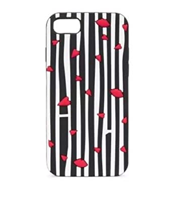 premium selection ca862 2cf1d Lulu Guinness Cutout Lip Stripe iPhone 6 6s 7 and 8 Case Cover NEW in Box