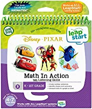 LeapFrog LeapStart 3D Disney Pixar Pals Math in Action Book, Great Gift For Kids, Toddlers, Toy for Boys and G