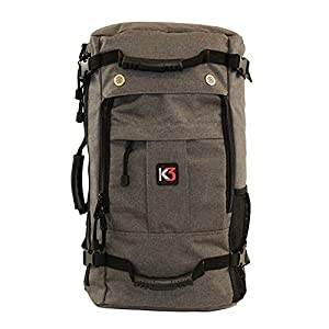 K3 Bravo Weatherproof Water Resistant Duffel Backpack