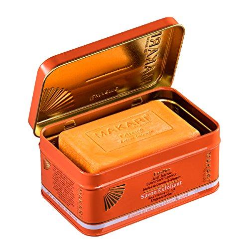 Makari Extreme Carrot & Argan Oil Bar Soap 7oz. – Anti-Aging Soap Exfoliates & Lightens Skin with Organiclarine – Whitening Treatment for Dark Spots, Acne Scars, Sun Patches & Hyperpigmentation
