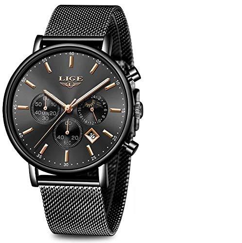 LIGE 9894 - Reloj analógico de Cuarzo para Mujer con Correa ...