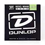 Dunlop DBN50110 Nickel Wound Bass Strings, Heavy, .050-.110, 4 Strings/Set