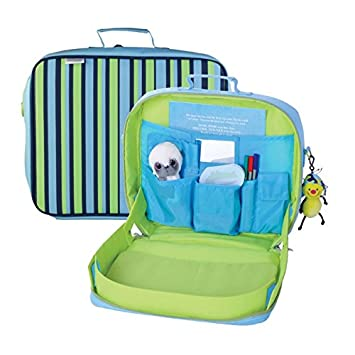 Content Calm Kids Travel Play Tray Kit Rucksack Backpack Car Train Play  TrayKit  Amazon.co.uk  Toys   Games 25df07e279