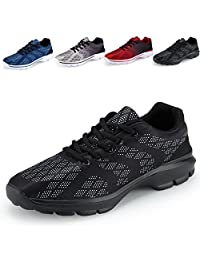 Men's Casual Walking Shoes Lightweight Breathable Running Tennis Sneakers