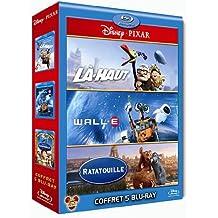 Coffret Pixar 2010 : Wall-E + Ratatouille + Là-haut - Coffret 5 Blu-ray