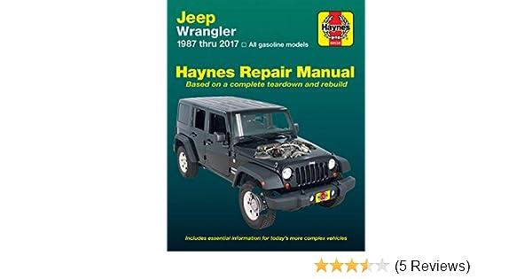 jeep wrangler 4 0 2 4l engine diagram haynes repair manual 50030 for jeep wrangler 1987 2017  haynes repair manual 50030 for jeep