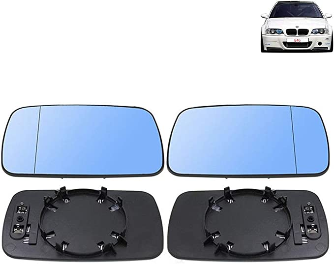 Right Driver Side RearView Mirror Cover Cap fits for BMW E46 Coupe//Cabrio 00-06