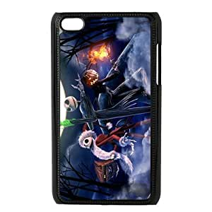 Customize High Quality Cartoon Nightmare Before Christmas Back Case for ipod Touch 4 JNIPOD4-1489