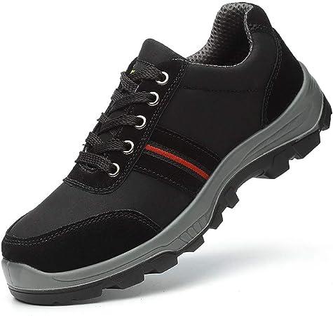 Sin marca Zapatos para Exteriores Gorra De Seguridad con Puntera De Acero Zapatos De Trabajo para Exteriores Desodorante Transpirable para Hombres Zapatos Ligeros Anti-roturas Y Roturas: Amazon.es: Hogar