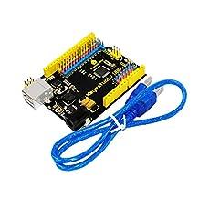 New! Keyestudio Super UNO R3 Atmega328p Development Board with Pin Header Interface Compatible for Arduino
