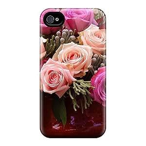 MeSusges Iphone 4/4s Hybrid PC Case Cover Silicon Bumper Mixed Delicacies