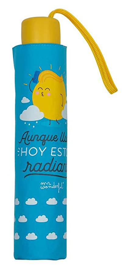 Paraguas plegable Mr. Wonderful Radiante