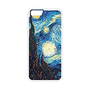 "WJHSSB Cover Shell Phone Case Van Gogh For iPhone 6 Plus (5.5"")"