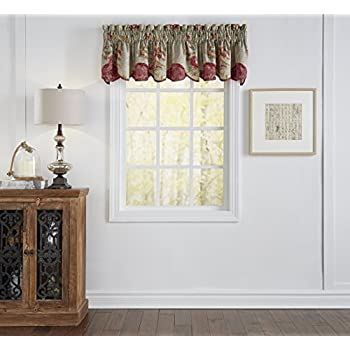 Amazon Com Waverly Sweetwater Stripe Window Valance
