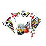 Italy Rome Landscape Roman Theater Poker Playing Cards Tabletop Game Gift