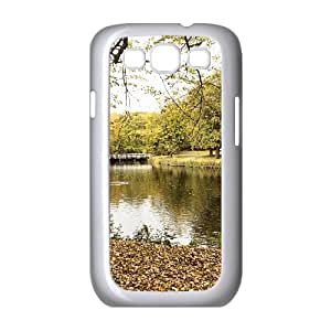 Autumn in the Clingendael Park Samsung Galaxy S3 Cases Protector for Girls, Case for Samsung Galaxy S3 Mini [White]