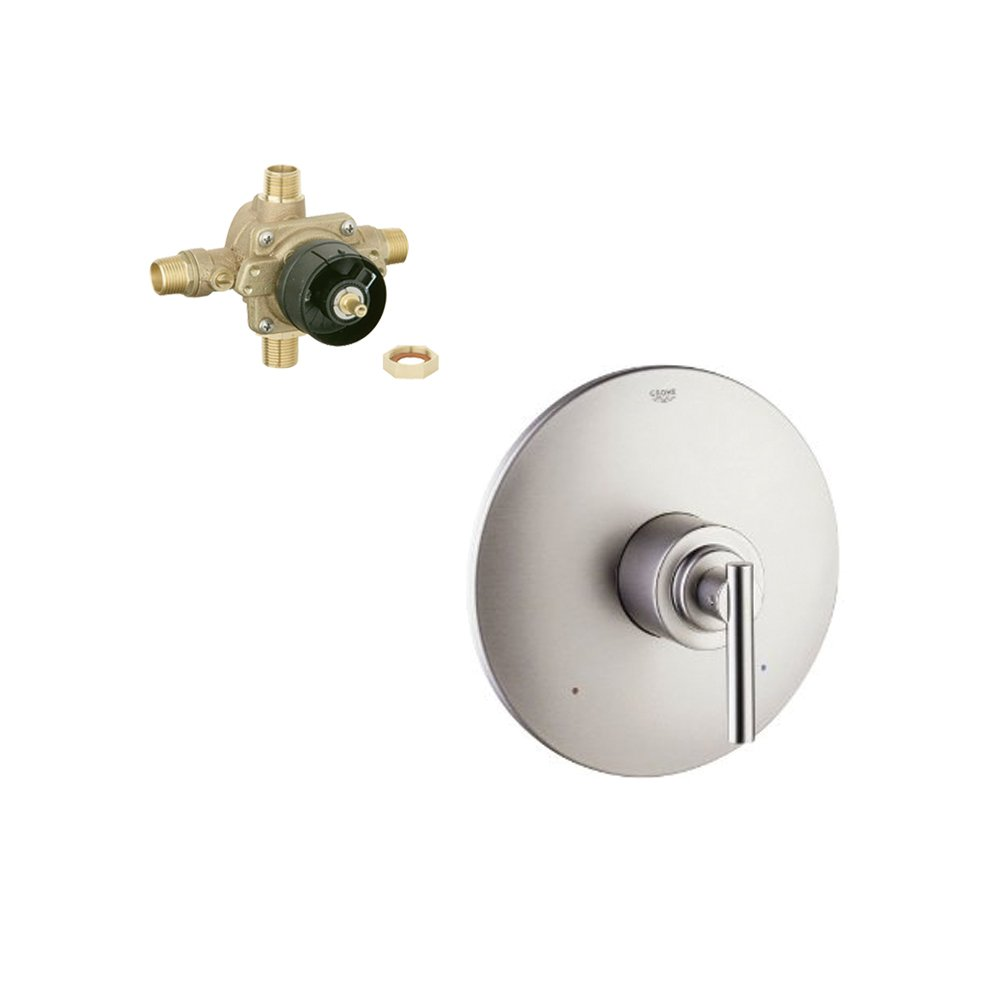 Grohe K19724-35015R-EN0 Atrio Tub and Shower Valve Kit Brushed Nickel