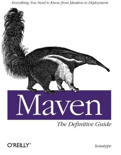Maven  The Definitive Guide By Sonatype Company  2008  Paperback