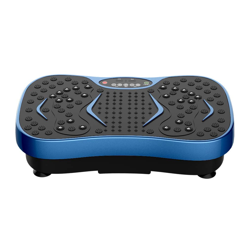 JUFIT Fitness Vibration Plate Exercise Equipment Whole Body Shape Exercise Machine Vibration Platform Fit Massage Workout Trainer,Max User Weight 330lbs