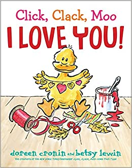 Image result for click clack moo i love you book
