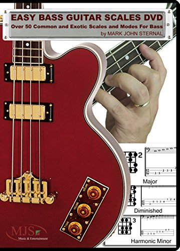EASY BASS GUITAR SCALES DVD - Over 50 Common and Exotic Scales and Modes For - Every Bass