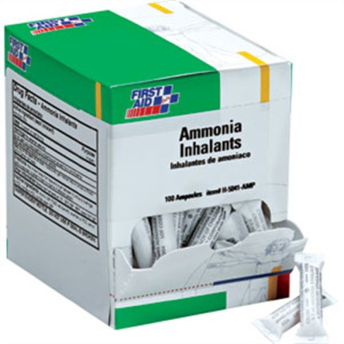Product thumbnail for First Aid Only H5041-AMP Ammonia Inhalant Ampoules