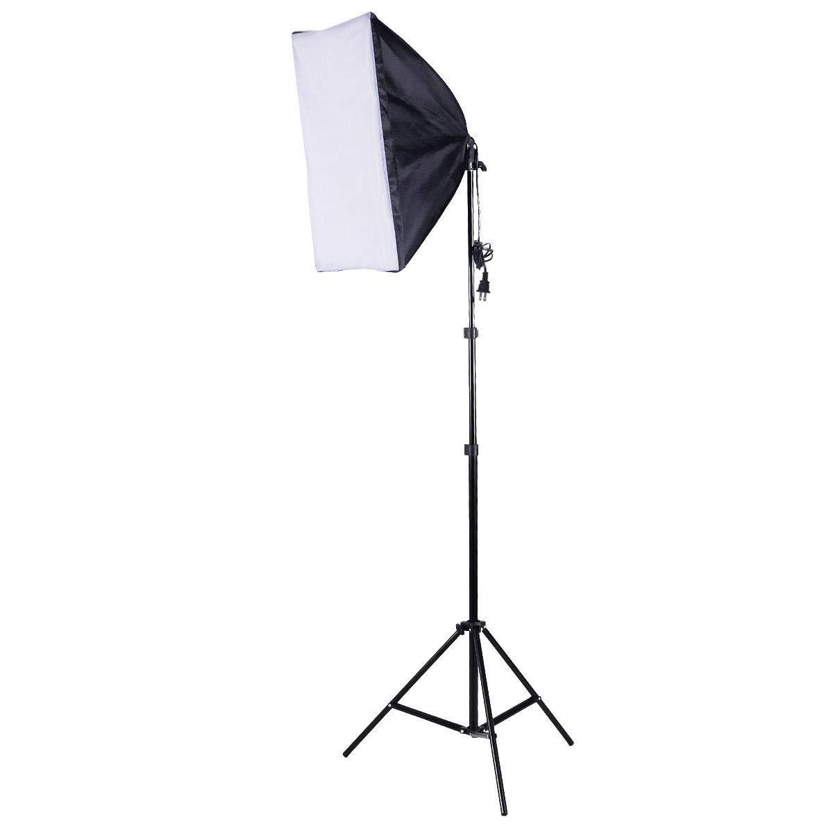 MD Group 2 PCS Lighting Softbox Stand Photography Equipment Light Kit