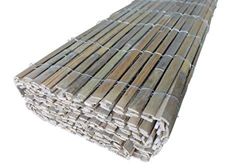 TOP MULTI Bambus Sichtschutz Windschutz 1,0m x 4m