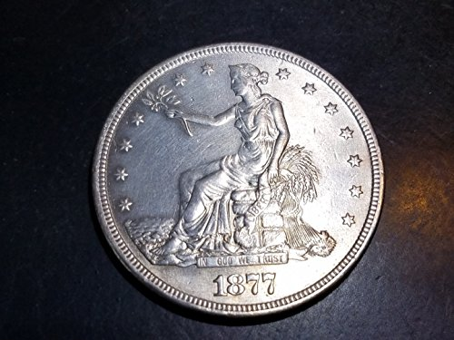 1877 S Trade Dollar $1 UNC
