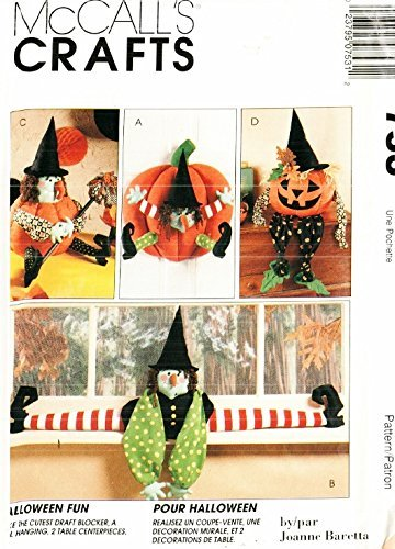 McCall's Crafts Pattern 7806 Halloween Decorations]()