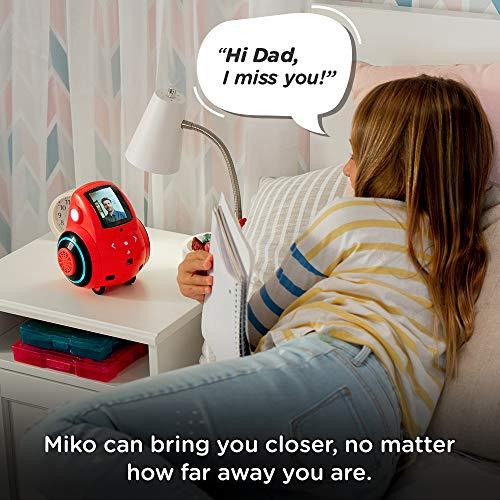 Miko 2: Playful Learning STEM Robot   Programmable + Voice Activated AI Tutor + Autonomous + Educational Games   30…