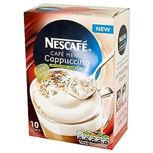 Nescafé descafeinado sin azúcar Cappuccino 10 x 15g