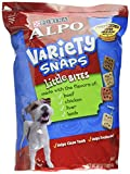 ALPO Variety Snaps Little Bites Dog Treats with Beef, Chicken, Liver & Lamb Flavors 60 oz. Pouch For Sale