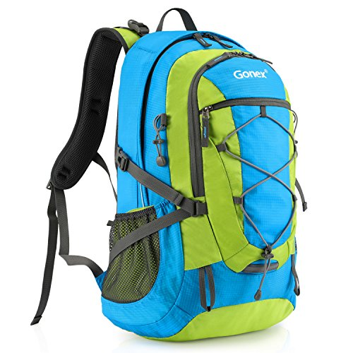 Water Repellent Camping Outdoor Trekking Daypack Gonex Updated 35L Hiking Backpack Backpack Cover Included