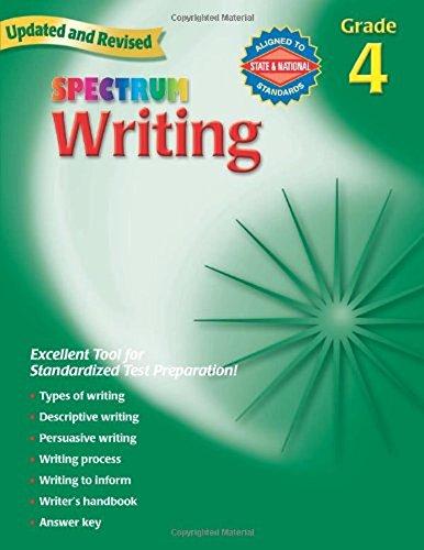 Spectrum Writing, Grade 4 -