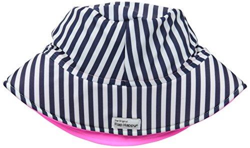 Flap Happy Little Girls' UPF 50+ Fun In The Sun Printed Hat, Reef, X-Large
