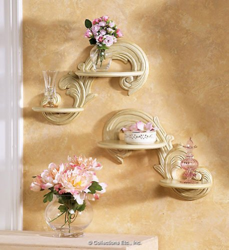Review Collections Etc - Olivia Victorian Wall Shelf Set By Collections Etc by Collections Etc