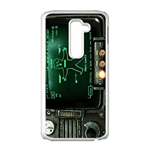 Pipboy Screen Pattern Plastic Case For LG G2