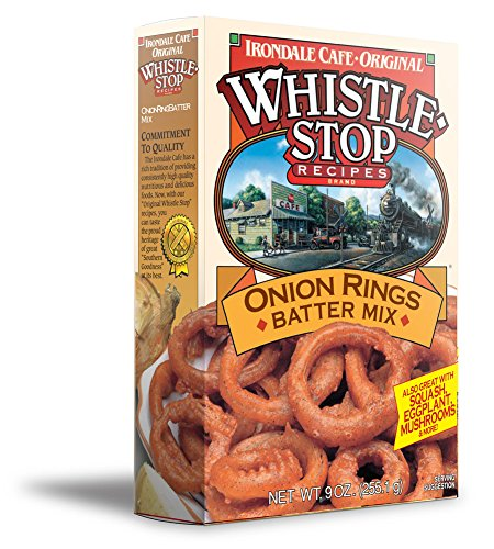 Original WhistleStop Cafe Recipes | Onion Ring Batter Mix | 9-oz | 1 Box