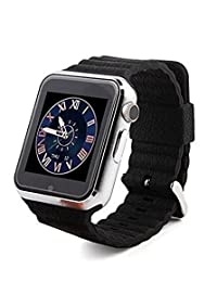 "Ohmygod85 1.54"" V7 Kids Bluetooth Smart Watch Phone Support Anti Lost GPS Tracker Kids Watch for Children (Black)"