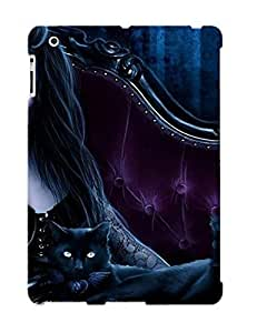 Hot New Goth Girl Case Cover For Ipad 2/3/4 With Perfect Design wangjiang maoyi