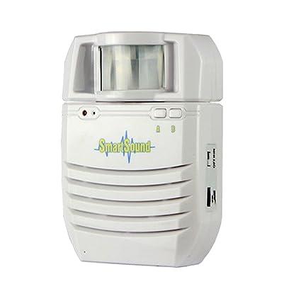 Sharplace Timbre de Seguridad Casa Puerta de Receptor PIR Sensor Infrarrojo Movimiento Accesorios